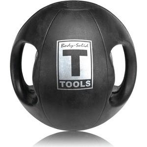 Мяч Body Solid тренировочный с хватами 12LB / 5.4 кг черный BSTDMB12