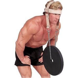 Упряжь Body Solid для тренировки мышц шеи кожаная MA307V