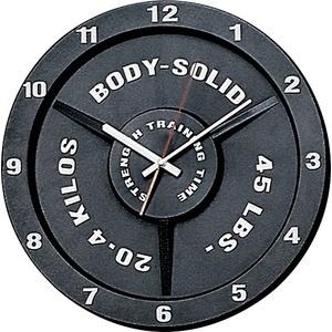 Часы настенные Body Solid в виде олимпийского диска STT45 гиперэкстензия body solid grch 322