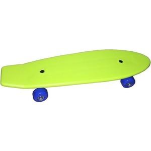 Скейтборд Action PW-512 пластиковый 21x6 скейтборд пластиковый action цвет зеленый дека 55 см х 15 см