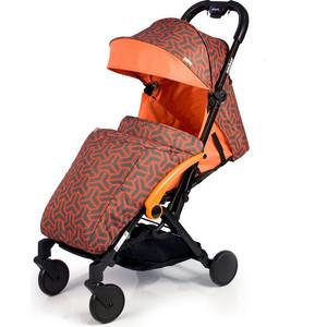Kоляска прогулочная BabyHit Amber (2017) Оранжевая коляска прогулочная babyhit drive серо оранжевая