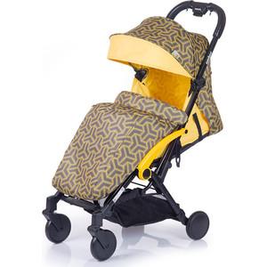 Kоляска прогулочная BabyHit Amber (2017) Жёлтая babyhit babyhit стульчик для кормления tummy голубой