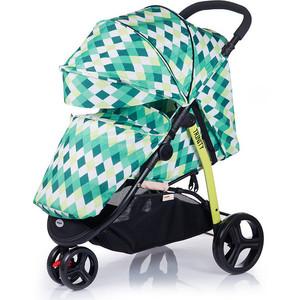Kоляска прогулочная BabyHit Trinity - Зеленая с ромбами