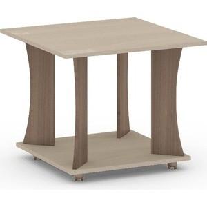 Журнальный стол Атлант Престиж 2 Ясень шимо темный, ясень шимо светлый стол обеденный rinner прямая ясень шимо светлый