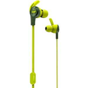 Наушники Monster iSport Achieve green (137091-00) наушники monster isport bluetooth wireless superslim in ear green 128652 00