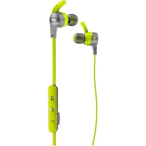 Наушники Monster iSport Achieve In-Ear Wireless green (137088-00) беспроводные наушники monster isport freedom wireless bluetooth on ear green