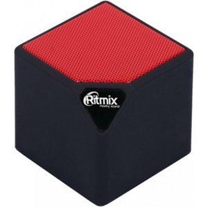 Портативная колонка Ritmix SP-140B black/red 110db loud security alarm siren horn speaker buzzer black red dc 6 16v
