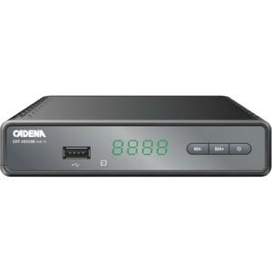 Тюнер DVB-T2 Cadena CDT-1651SB