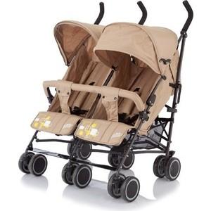 Коляска для двойни Baby Care City Twin (трость), (Khakki) (BT1106T)