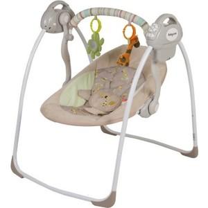 Электрокачели Baby Care Riva с адаптером (32006) кофейный