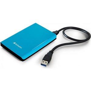 Внешний жесткий диск Verbatim 1Tb Store'n'Go Blue (53175)
