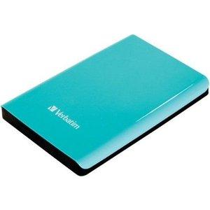 Внешний жесткий диск Verbatim 500Gb Store'n'Go Turquoise (53171)