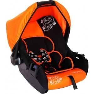Автокресло Baby Care Слоник Люкс (BC-322LUX) оранжевый