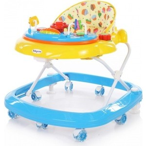 Ходунки Baby Care Sonic (GL-6000S2) желтый/синий (Yellow/Blue) коляска baby care rimini s 401b blue