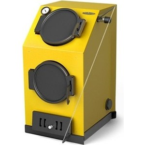 Напольный твердотопливный котел Термофор КВ автоматик АРТ под ТЭН (20 кВт)
