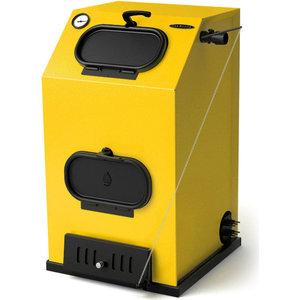 Напольный твердотопливный котел Термофор КВ Прагматик автоматик АРТ под ТЭН (30 кВт)