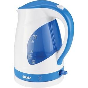 Чайник электрический BBK EK1700P белый/голубой стоимость