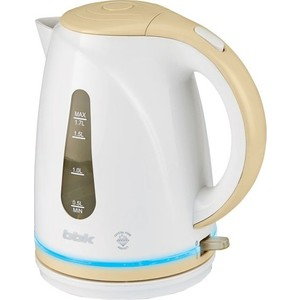 Чайник электрический BBK EK1701P белый/бежевый