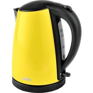 Чайник электрический BBK EK1705S желтый bbk bx150u черный желтый