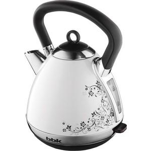цены  Чайник электрический BBK EK1710S белый/черный