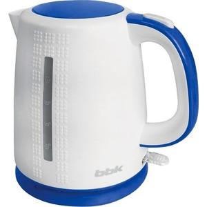 Чайник электрический BBK EK1730P белый/голубой