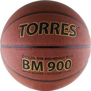 Мяч баскетбольный Torres матчевый BM900 р.6 (синтетическая кожа) цена