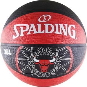 Мяч баскетбольный Spalding Chicago Bulls р.7 (Резина)