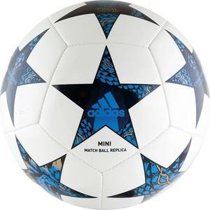 Мяч футбольный Adidas Finale 17 Cardiff Mini (AZ9608) р.1 мяч футбольный adidas finale milano