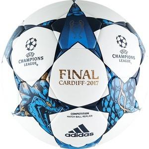 Мяч футбольный Adidas Finale 17 Cardiff Competition (AZ5201) р.5 реплика мяча финала ЛЧ2016/17