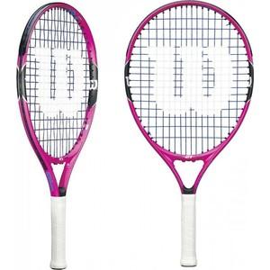 Ракетка для большого тенниса Wilson Burn Pink 21 GR00000 wilson ракетка для большого тенниса детская wilson roger federer 23 размер без размера