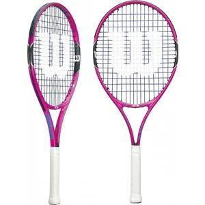 Ракетка для большого тенниса Wilson Burn Pink 25 GR00 ракетка для настольного тенниса start line level 200 60 311