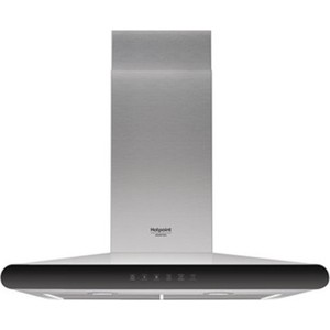 Вытяжка Hotpoint-Ariston HHC 6.7F LT X вытяжка купольная hotpoint ariston hhbs 9 8f lt x