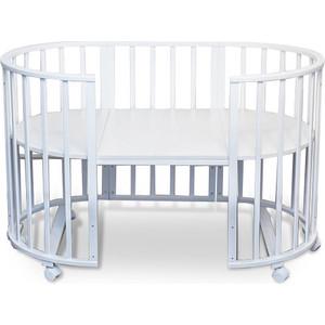 Кроватка Sweet Baby Delizia Bianco (Белый) без маятника (383064) детская кроватка sweet baby delizia 5 в 1 avorio слоновая кость без маятника