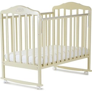 Кроватка Sweet Baby Lorenzo Avorio (Слоновая кость) (378153)