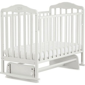 Кроватка Sweet Baby Luigi Bianco (Белый) (378158)