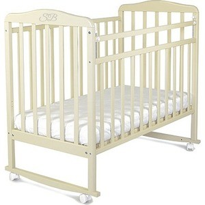 Кроватка Sweet Baby Mario Cammello (Бежевый) (378137) кроватка скв березка 120119 бежевый