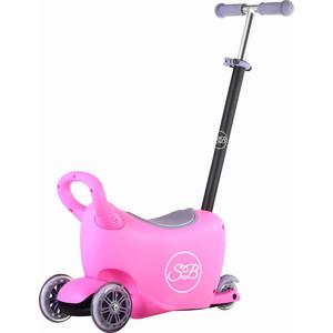 Самокат 3-х колесный Sweet Baby Triplex 6 в 1 Pink (378212) самокат fenix cms018 1 pink