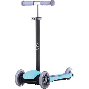 Самокат 3-х колесный Sweet Baby Triplex Classic Blue (378213) sweet baby наматрасник непромокаемый sb k013