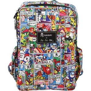 Рюкзак Ju-Ju-Be Mini Be tokidoki super toki (13BP02AT-9755) ju ju be рюкзак для мамы mini be key west