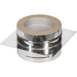 Опора Феникс для сэндвича диаметр 115/200 мм сталь AISI 430 (1.0 нерж.зерк.)(01051) опора феникс для сэндвича диаметр 150 200 мм 1 0 оцинк 01058