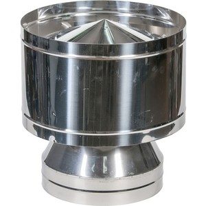 Дефлектор Феникс диаметр 115/200 мм сталь AISI 430 (0.5 нерж.мат./0.5 нерж.зерк.)(02481) тройник феникс сэндвич 115 200 мм угол 90 градусов 1 0 нерж мат 0 5 оцинк 01046