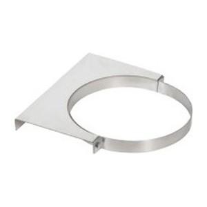 Крепление Феникс к стене диаметр 115 мм (1.5 нерж.зерк.)(03148)