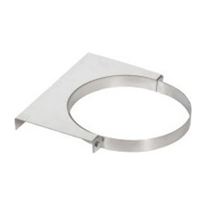 Крепление Феникс к стене диаметр 200 мм (1.5 нерж.зерк.)(03151)