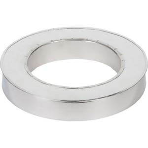 Заглушка Феникс сэндвича диаметр 120/200 мм (0.5 нерж.мат./0.5 нерж.зерк.)(верх)(03153)