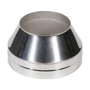 Конус Феникс 150/210 мм (0.5 нерж.мат./0.5 нерж.зерк.)(03156)