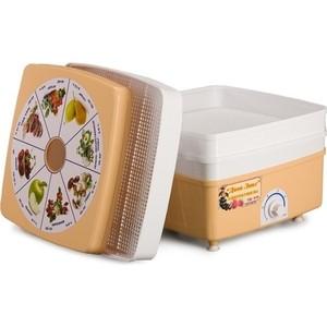 Сушилка для овощей Ротор Дива Люкс СШ - 010 с 3 решетами в цветной упаковке (квадратная)