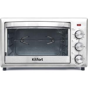 Мини-печь KITFORT KT-1702 мини печь kitfort кт 1702 silver black
