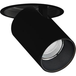 Встраиваемый светодиодный светильник Donolux DL18621/01R Black Dim