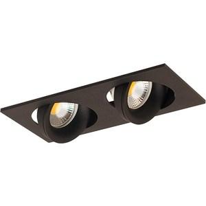 Встраиваемый светильник Donolux DL18412/02TSQ Black