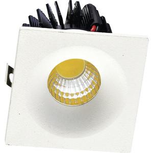 Встраиваемый светодиодный светильник Donolux DL18571/01WW-White SQ Dim массажер sq 75 55 s1007